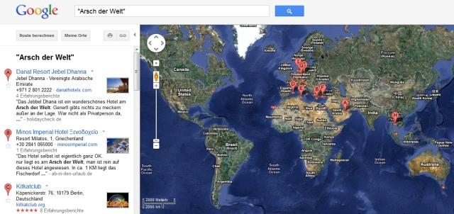Googles Ärsche dieser Welt